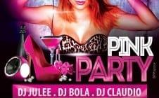 PINK PARTY – DJ BOLA – DJ CLAUDIO – MARLON FIALHO – SAMBA WEST