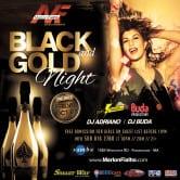 BLACK AND GOLD NIGHT – BUDA PRODUCTIONS – EQUIPE PANCADAO – SAMBA WEST – MARLON FIALHO