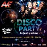 DISCO PARTY – DJ BOLA – DJ ANDRE BUENO – SAMBA WEST – MARLON FIALHO